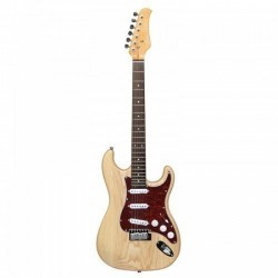Haineswood ST-A-ASH Strat Electric Guitar Expedition Series