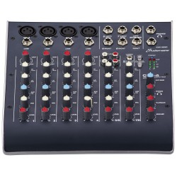STUDIOMASTER C2S-4 8 Channel Compact Mixer With USB Recording