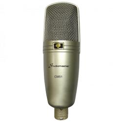 STUDIOMASTER CM51 Cardioid Condenser USB Microphone