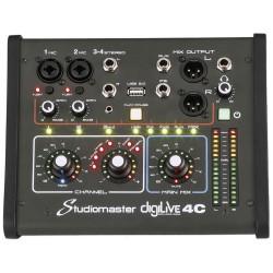 STUDIOMASTER digiLivE 4C 4 Input Digital Mixer