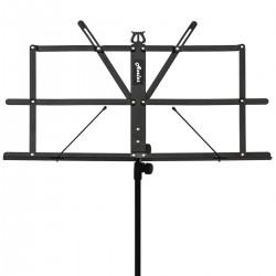 Axelos AXMS001NL: Light Weight Music Stand (Sabbath Black)