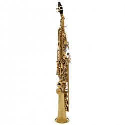 John Packer JP043G: Bb Soprano Saxophone Gold Lacquer
