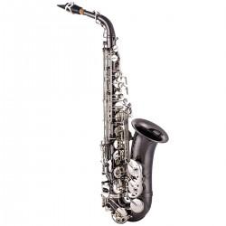 John Packer JP045BS: Alto Saxophone Eb Black With Silver Keys