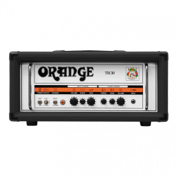 ORANGE TH30-BK: 30W Twin Channel Valve Guitar Amp Head (BLACK)