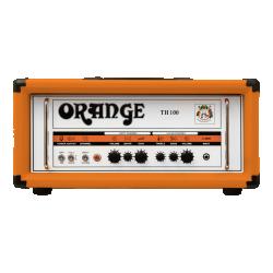ORANGE TH100-H: 100W Twin Channel Valve Guitar Amp Head (ORANGE)