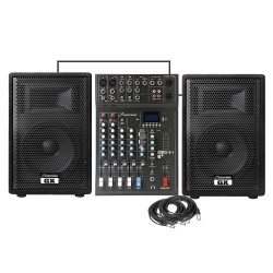 Studiomaster GX10APK 200 Watts RMS Complete PA System Combo