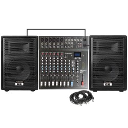 Studiomaster GX15APK 500 Watts RMS Complete PA System Combo
